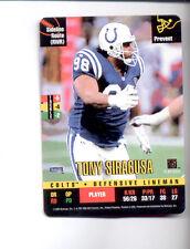 1995 Donruss Red Zone TONY SIRAGUSA Indianapolis Colts Rare Card