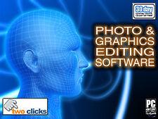 PHOTO EDITING & PRO DIGITAL IMAGE  SOFTWARE CD *PC/WIN*