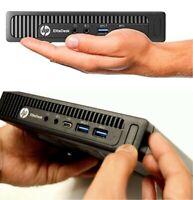 HP EliteDesk 800 G2 Mini QC i7-6700 3.40Ghz 16GB RAM 256GB SSD Win 10 Pro WIFI!