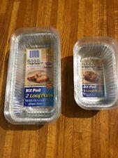 Ez Foil Loaf Pans Set of 2 and Set of 3
