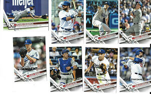 2017 Topps All-Star Game Silver Parallel Baseball Team Set-Los Angeles Dodgers!!