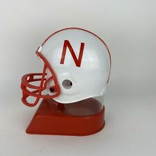 Vintage Nebraska Cornhuskers Football Helmet Coin Bank 7 Inches Tall