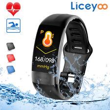Smart Band Watch Bracelet Wristband Fitness Tracker Heart Rate HR Step FTBL10