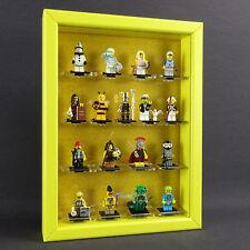 CAJA PARA FIGURAS Vitrina de colección Lego Serie 71001 MINIFIGURAS 10 MR. oro