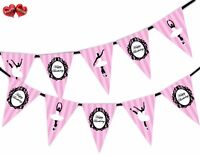 Ballerina Happy Birthday Ballet Themed Bunting Banner 15 flags by PARTY DECOR
