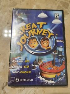 Great Journey - PC CD-ROM - Adventure Game ***BRAND NEW & SEALED***