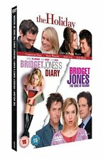 Bridget Jones's Diary / Bridget Jones The Edge Of Reason / The Holiday UK R2 DVD