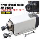220V+Spindle+Motor+2.2KW+CNC+Air+Cooled+Spindle+Motor+ER32+Impact+Structure