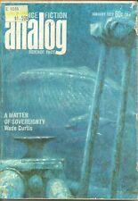 Analog Science Fiction - January 1972