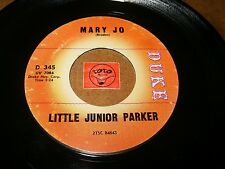LITTLE JUNIOR PARKER - MARY JO - ANNIE GET YOUR YO - YO  / LISTEN /  R&B