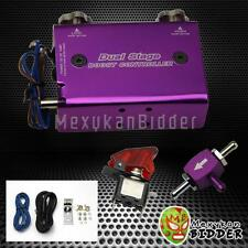 Universal Purple Adjustable Turbo Dual Stage Manual Boost Controller Kit Ford