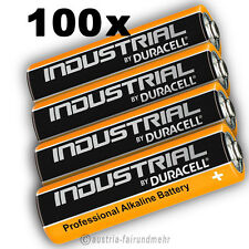 100x MIGNON AA LR6 MN1500 Batterie DURACELL INDUSTRIAL Folie