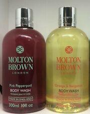 Molton Brown 2x 300ml Body Wash Shower Gell (Pink Peppercorn & Orange bergamot)