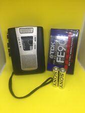 Cassette Sony Grabadora de Voz Dictáfono TCM-459V Totalmente Funcional