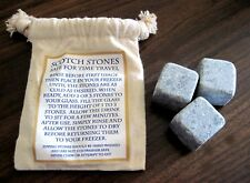Scotch Stones for Cold Whiskey Drinks in Drawstring Bag NEW