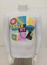 Vintage 1980s Canaan Mountain Bike Series Trials Long Sleeve T-Shirt Men's Small