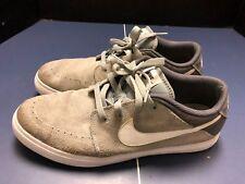 Nike Suketo Gray Suede Shoe Sneaker Men Size 11 Very Good condition!
