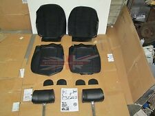 New Full Cloth Front Seat Covers Upholstery MGB 1973-80 Made in UK + Headrests