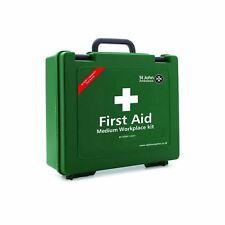St John Ambulance Medium Standard First Aid Kit Workplace Outdoor Carry Case Box