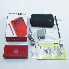Pure Red Nintendo DS Lite HandHeld console System+gifts
