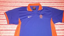 10/10 NETHERLANDS (HOLLAND) 1997/1998 THIRD SHIRT - KLUIVERT BERGKAMP DAVIDS ERA
