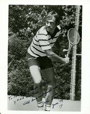 Australian Tennis Star JOHN NEWCOMBE Signed Photo