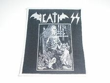DEATH SS EVIL METAL WOVEN PATCH