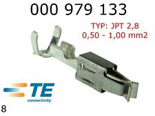 Terminals Female JPT 2.8K Tin Plated Terminal 0.5 - 1.0mm2 TYCO 10pcs 000979133