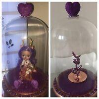 Glass Display Dome Enchantimals Reindeer Jewellery Valentines Gift