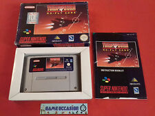 TURN AND QUEMA Nº - VOLAR ZONA SNES SUPER NINTENDO COMPLETO PAL