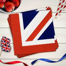 LickleBox Union Jack Napkins (3 ply) Pack of 20