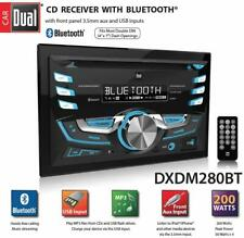Dual Electronics DXDM280BT Multimedia MP3 CD Player Double DIN Car Stereo