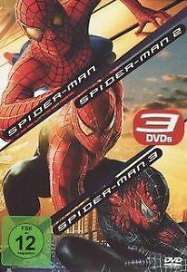 Spider-Man / Spider-Man 2 / Spider-Man 3 von Sam Raimi | DVD | Zustand neu
