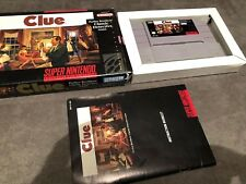 ^^^^ Clue (Super Nintendo Entertainment System, 1992) Complete