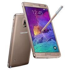 Doré 32GB Samsung Galaxy Note IV4 SM-N910A Débloqué d'usin TéléPhone Smartphone