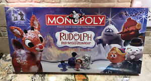 MONOPOLY Rudolph The Red Nosed Reindeer 2006 Collector's Edition New sealed NOS!