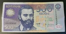 ESTONIA 500 KROONI P81a 1996 VF BILL MONEY BANK NOTE