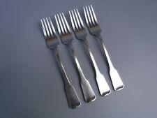 """Oneida Sandhurst Stainless Steel Dinner Forks 4pc Set  7 1/4"""""""