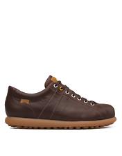 Camper Pelotas 17408-086 Men Trainers Leather / Calfskin Brown