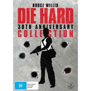 DIE HARD 1 2 3 4 5 : 30th Anniversary Collection : NEW DVD