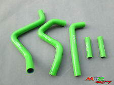 for Kawasaki KX250 1994-2002 95 96 97 98 99 00 silicone radiator hose green
