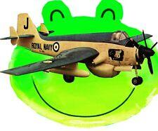 """Model Airplane Plans vintage Scale Control Line  40"""" .35 & .02 GANNET A.E.W.3"""