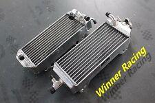 aluminum alloy radiator Suzuki  RM125 Models T/V 1996-1997 2 strock left+right