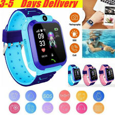 KIDS Bluetooth Smart Watch &Phone W/ Camera For Mobile Location Track Waterproof