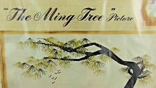 "Vintage Paragon Crewel Kit The Ming Tree #0630, 18"" X 44"" size Never Opened"