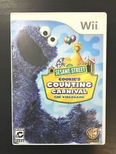 Sesame Street: Cookie's Counting Carnival - The Videogame (Nintendo Wii, 2010)