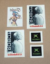 Old Xbox / Sudeki / U.S. Robotics I, Robot rare Promo Tattoo Set