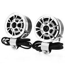 AV - M183 Paired Motorcycle Loudspeaker Car HiFi Full Range Speaker Water Resist