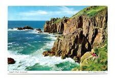 Cornwall - Lands End - Postcard Franked 1971