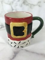 Holiday Home Christmas Santa Coffee Mug Cup Coffee Tea Cocoa Kitchen Wear Decor